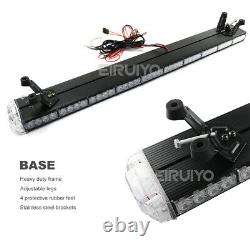 25 to 63 inch LED Roof Top Warning Emergency Strobe Light Bar Beacon Tow Truck