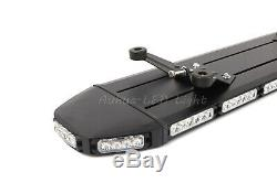 360W 53 LED White Amber Warning Emergency Roof TowithPlow Truck Strobe Light Bar