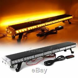 37 LED Warning Emergency Beacon Strobe Rooftop TowithPlow Trucks Amber Light Bar