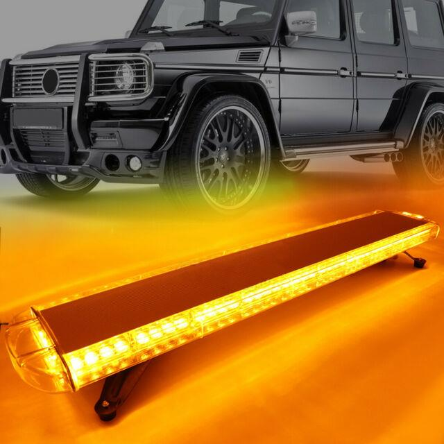 38 72led Roof Light Bar Tow Truck Emergency Beacon Warning Flash Strobe Amber