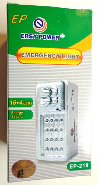 3x Emergency Automatic On Power Outage Led Light Lamp Storms, Hurricane New