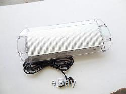 40 LED Strobe Lights 22inch Emergency Beacon Warning Car Truck Roof Top AMBER/W