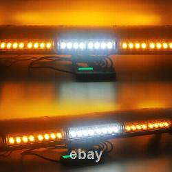 42 LED Strobe Light Bar Emergency Warning with TAKE DOWN & ALLEY Tow Truck Amber