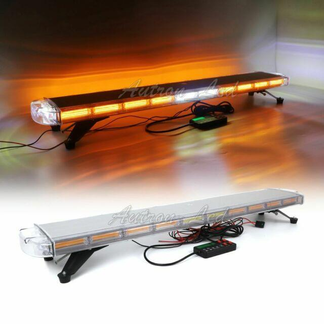 47 Cob Led Emergency Warning With Take Down Alley Lights Roof Top Strobe Lightbar