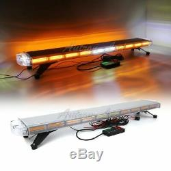 47 Inch COB LED With TAKE DOWN ALLEY Lights Emergency Warning Strobe Roof Lightbar
