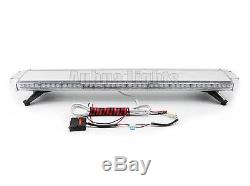47 Inch LED Strobe Light Bar Emergency Flash Safety Roof Tow Truck Wrecker Amber
