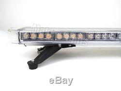 47 LED Strobe Light Bar Emergency Beacon TowithPlow Truck Roof Warn Flash Amber