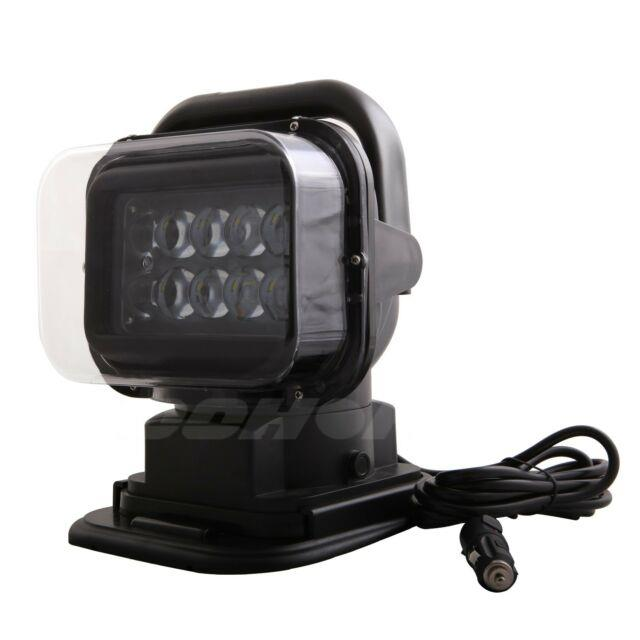 50w Led Remote Control Spot Search Light 360° Magnetic Security Emergency Camper