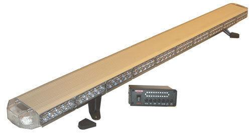 50 Green Led Light Bar Construction Truck Emergency With Take Down, Work Cargo