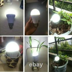 8pcs 12W LED E27 Smart Bulb Emergency Light with Rechargeable Battery Lighting