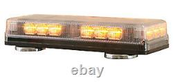 Buyers 8891090 LED Magentic Emergency Amber Strobe Mini Light Bar TowithPlow