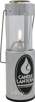 Collapsible Candle Lantern Camping Camper Emergency Light Aluminum UCO Original