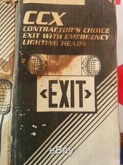 Cooper Lighting CCX-70-RWH-DH LED Emergency Light and Exit Sign Battery Back-up