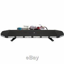 Emergency Warning Strobe Light Bar Beacon Roof Security Tow Truck 96LED41