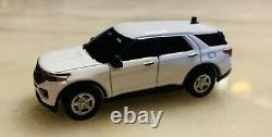 Greenlight 164 Custom 2020 Ford Explorer Police With LED Lights
