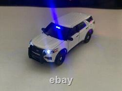 Greenlight 164 Custom NYPD 2020 Ford Explorer Police With LED Lights