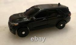Greenlight 164 Custom NYPD 2020 Unmarked Ford Explorer Police With LED Lights