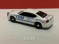 Greenlight 164 NYPD Custom Dodge Charger Police Interceptor With LED Lights