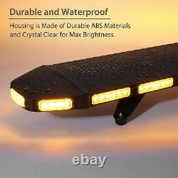 Justech 96LEDs Car Emergency Roof Light 21 Flash Modes Recovery Warning Strob