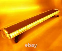 Roof Top 38 Amber 72 LED Emergency Beacon Warning Flash Strobe Light Tow Truck